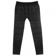 Runners. - LS981 -BLK- Knurling Legging