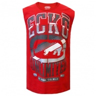 Red tank top Ecko Unltd for men