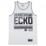 White tank top Ecko Unltd for men