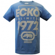 Blue t-shirt Ecko Unltd for men