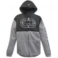 Grey Hood zip Ecko Unltd for men