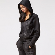 Black hood-zip Ecko Red for women