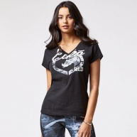 Black t-shirt Ecko Red for women
