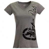 Grey t-shirt Ecko Red for women