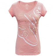 Pink t-shirt Ecko Red for women