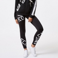 Black legging Ecko Red for women