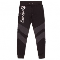 Black fleece jogger Ecko Red for women