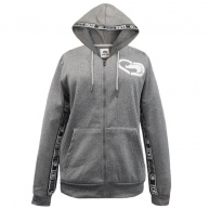 Gray hood zip Ecko Red for women