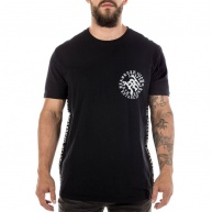 Black t-shirt Headrush for men