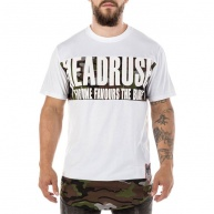 White t-shirt Headrush for men