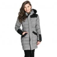 Grey outerwear Oxygen for women