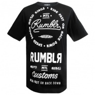Black t-shirt Rumbler for men