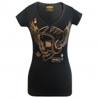 Black t-shirt Rumblr for women