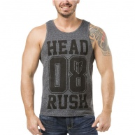 Grey tank top Headrush for men