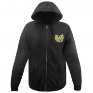 Black hood zip Wu-Tang for men