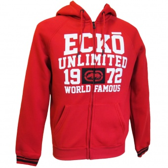 Ecko Unltd. - ER317-K13 - RED - Major Arch Hood Zip