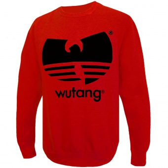 Wutang . - Crewneck Red Wutang For Men