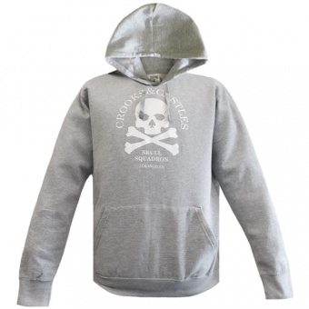 Grey hoodie Crooks & Castles for men