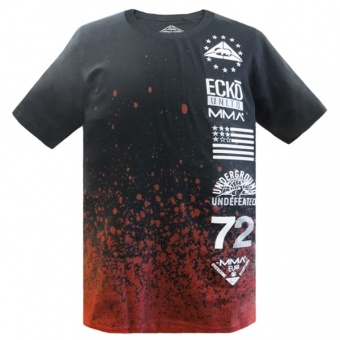 Black t-shirt Ecko MMA for men
