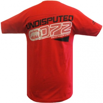 Red t-shirt Ecko MMA for men