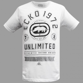 White t-shirt Ecko Unltd for men