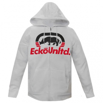 White hood zip Ecko Unltd for men