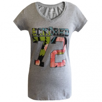 Gray t-shirt Ecko Red for women