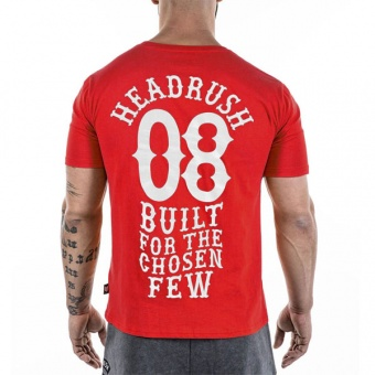 Red t-shirt Headrush for men