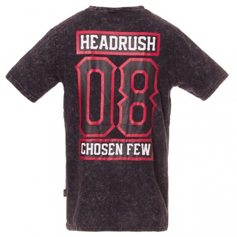 T-shirt black Headrush for men