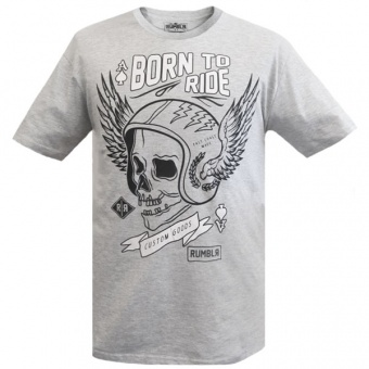Grey t-shirt Rumbler for men