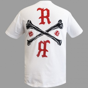 White t-shirt Rumblr for men